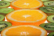 Free Orange And Kiwi Stock Images - 3792634