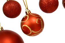 Free Christmas Balls Royalty Free Stock Photos - 3792668