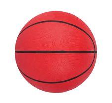 Free Basketball Isolated Royalty Free Stock Photo - 3792715