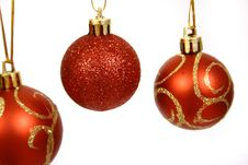 Free Christmas Balls Royalty Free Stock Photo - 3792725