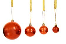 Free Christmas Balls Royalty Free Stock Photography - 3792757