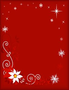 Free Christmas Card Background Royalty Free Stock Photography - 3793287
