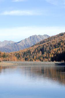 Free Limpid Lake Royalty Free Stock Photo - 3793435