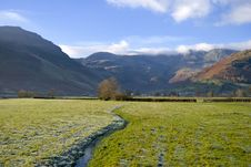 Free Small Stream In Langdale Stock Photos - 3794253