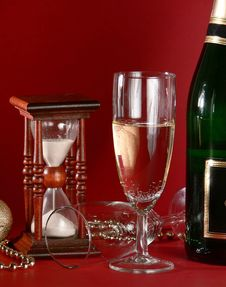 Free New Years Still Life Stock Image - 3794361