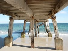 Free Old Coastal Pier Royalty Free Stock Images - 3794549