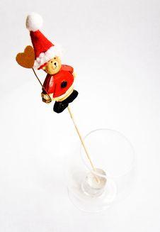 Free Christmas Bear Royalty Free Stock Photos - 3795288
