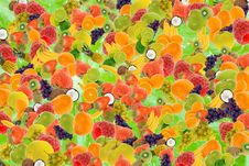 Free Summer Fruit Background Stock Photos - 3795683