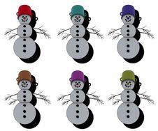 Free Snowmen Stock Image - 3795961