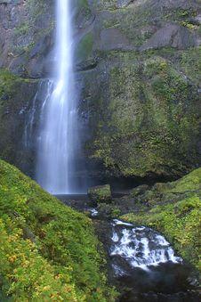 Free Upper Multnomah Falls. Stock Images - 3796704