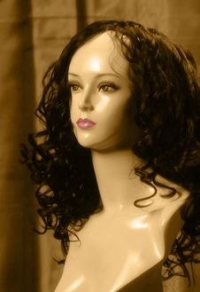 Free Sepia Mannequin 3 Royalty Free Stock Photo - 3797145
