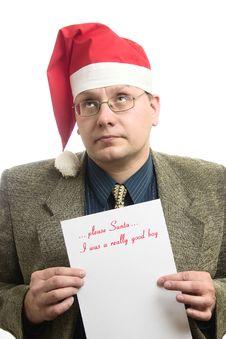 Free Christmas Wish List Royalty Free Stock Image - 3797276