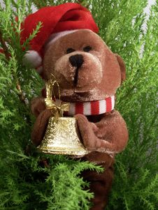 Free Christmas Teddy-bear Royalty Free Stock Image - 3797596