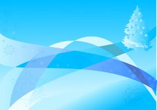 Free Blue Christmas Illustration Stock Images - 3798124