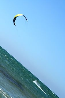 Free Kite Surfer Royalty Free Stock Images - 3798579