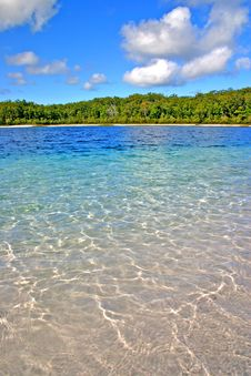 Lake McKenzie, Fraser Island, Australia Royalty Free Stock Images
