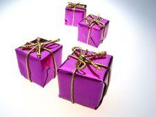 Free Four Boxs Royalty Free Stock Image - 3799166