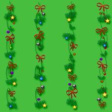 Christmas Gift Bag Stock Photo