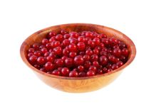 Bowl Of Red Currant. Royalty Free Stock Image
