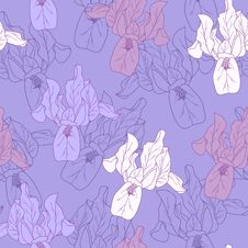 Free Seamless Floral Pattern Royalty Free Stock Photography - 37946497