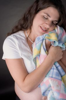 Free Pregnant Woman Napping Stock Photo - 380620