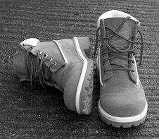 Free Boots. Stock Image - 381701