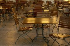 Free Empty Table And Chairs Stock Photos - 382013