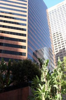 Free Downtown Los Angeles 6 Royalty Free Stock Image - 382366