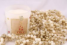 Free Candle And Beads Stock Images - 382434