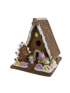 Free Gingerbread House Royalty Free Stock Photos - 382848