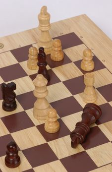 Free Chess Mat Royalty Free Stock Images - 383579