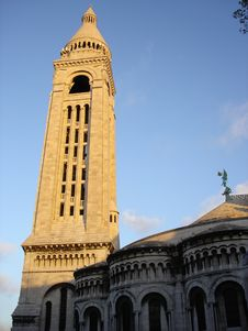 Free Sacre Coeur Tower Royalty Free Stock Images - 383919