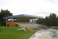 Free Lakefront Pavilion Stock Images - 384034