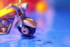 Toy Motorbike Royalty Free Stock Photography