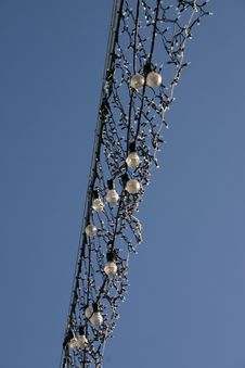 Free Christmas Street Lights In Daytime Stock Photos - 384583