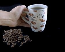 Free Coffee Beans 5 Royalty Free Stock Images - 384929