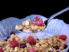 Free Bowl Of Cereal 2 Stock Image - 384971