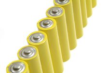 Free Batteries Royalty Free Stock Photo - 385715