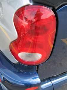 Free SMART CAR Taillights Stock Photo - 386500