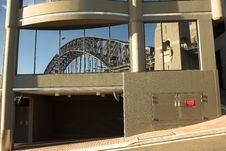 Free Bridge Reflection, Sydney Royalty Free Stock Image - 386556
