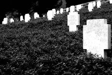 Free German Cemetery, Royalty Free Stock Images - 386579