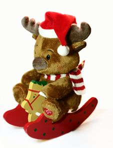 Free Reindeer Toy Stock Photos - 389743