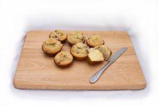 Fresh Muffins 2 Stock Photos
