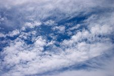 Free Sea Of Clouds Royalty Free Stock Image - 389816