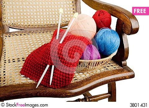 Free Yarn For Knitting Stock Image - 3801431