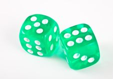 Free Dices. Royalty Free Stock Images - 3800079