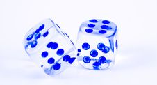 Free Dices. Royalty Free Stock Photos - 3800088