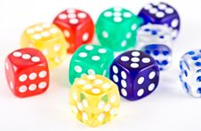 Free Dices. Stock Photography - 3800092