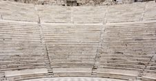 Free Ancient Theater Rows Of Seats Royalty Free Stock Photo - 3800105