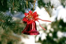 Free Christmas Bell Royalty Free Stock Photography - 3800197